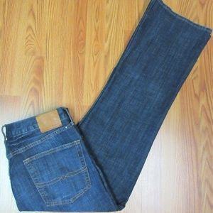34x32 LUCKY BRAND 367 VINTAGE BOOT CUT Mens COTTON